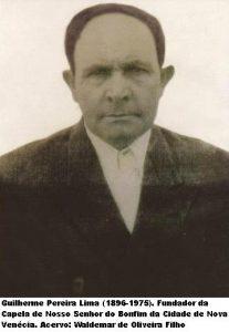 » O fundador da igreja Nosso Senhor do Bonfim, Guilherme Pereira de Lima