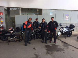 Rayana viajou na manhã de ontem para Prado, juntamente com os amigos Balmant, Vitinho e Hiago. Eles participarão de um encontro para motociclistas