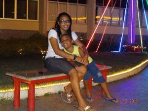 Alessandra dos Santos se preocupa com o futuro de Kaio