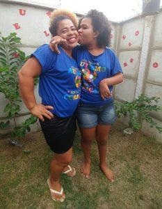 Luciene dos Santos precisa de terapias ocupacionais especializadas, para a filha Ingrid