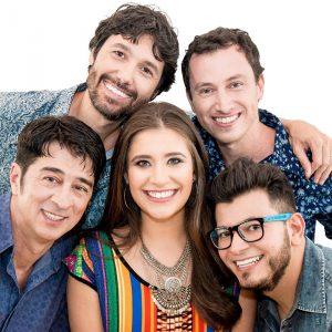 A banda Bicho de Pé se apresenta no sábado, 29