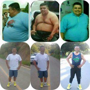Em um ano e seis meses, Robertão emagreceu 68 quilos, atraves de exercícios físicas e alimentação balanceada