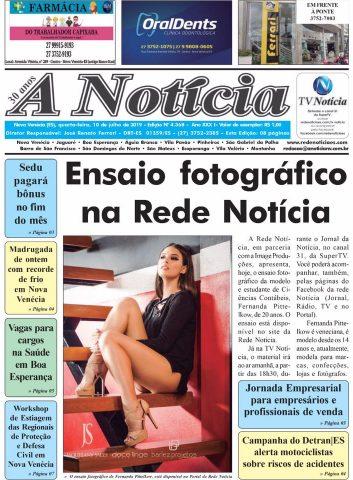A Notícia | Edição 4368 | 10-07-19