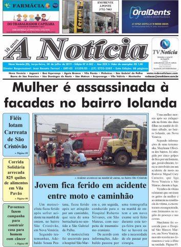 A Notícia | Edição 4382 | 30-07-19